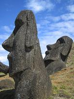 The wonderous statues of Easter Island